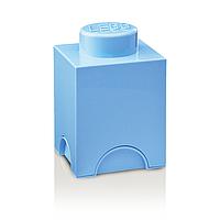Одноточечный голубой контейнер для хранения Lego PlastTeam 40010136, фото 1