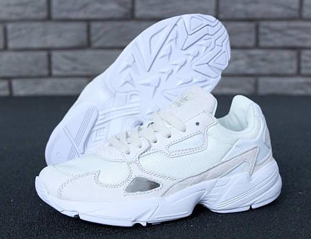 Женские кроссовки Adidas Falcon white, адидас фалькон  продажа, цена ... 49ed606e03a