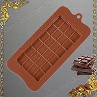 """Форма силиконовая """"Плитка шоколада"""""""