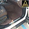 Коврики Range Rover Кожаные 3D (кузов №3 / 2001-2012) Коричневые
