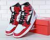 Мужские баскетбольные кроссовки Off-White x N*ke A*r Jordan 1. ТОП Реплика ААА класса., фото 6