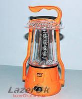 Кемпинговая лампа-фонарь YAJIA 5830 с дополнительной установкой батарей!, фото 1