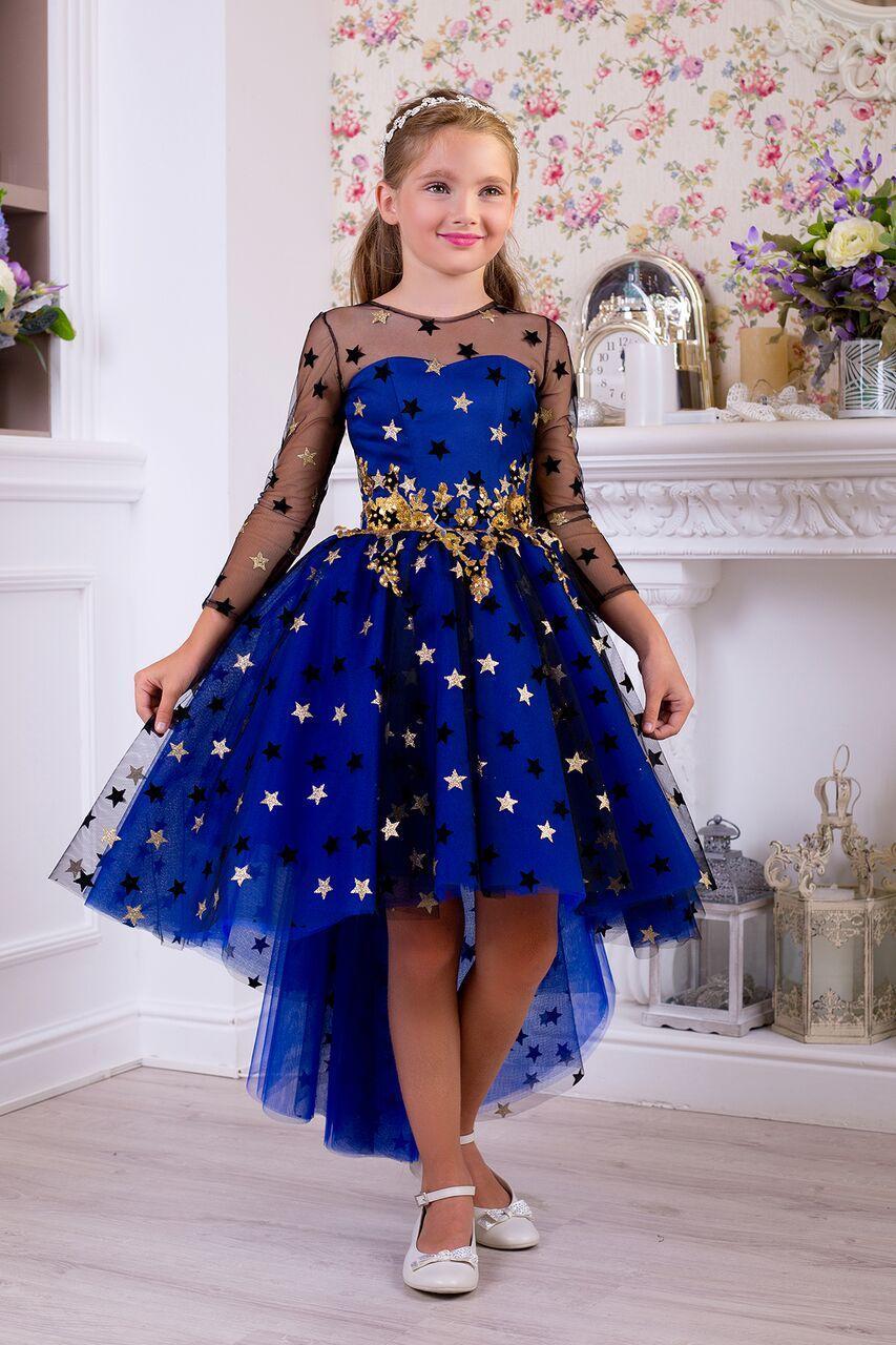 0af11fe53f1 Детское выпускное платье для девочки 1065 - МОЙ МИР - товары для детей