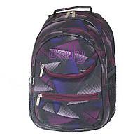 Рюкзак шкільний з ортопедичною спинкою 30х40х20 см Dolly різні кольори (550), фото 1