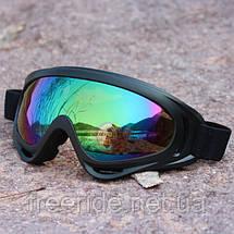 Лыжная маска, очки для сноуборда, горных лыж, фото 3