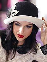 138-2 Женская фетровая шляпа Хелен Лайн