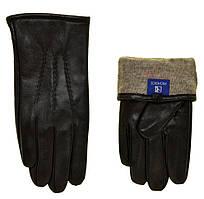 """Мужские перчатки кожаные с подкладкой Richoice (11-13) """"Matrix"""" LM-2108"""