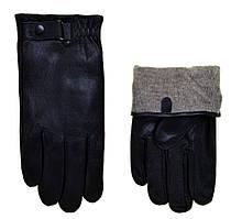 """Мужские перчатки кожаные с подкладкой сенсорные Image (11-13) """"Matrix"""" LM-2108"""