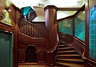 Реставрация деревянных лестниц. Киев