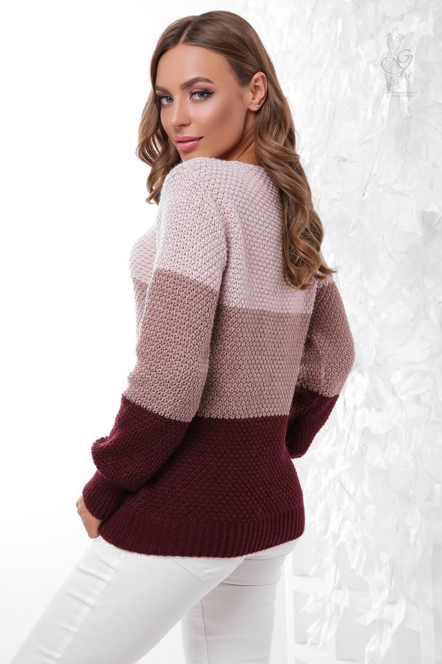 Фото-1 Вязаного женского свитера Рэйн-1