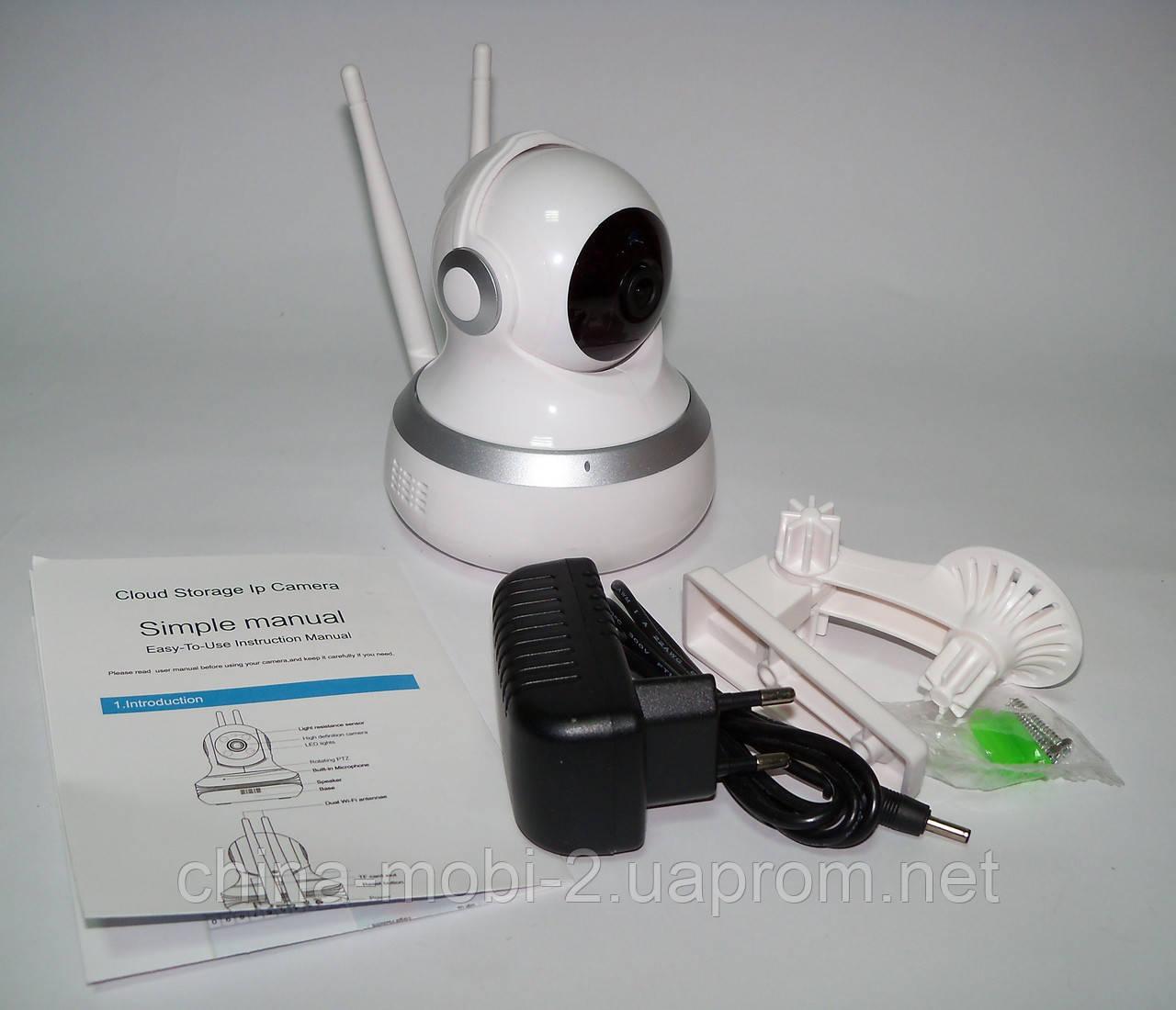 Управляемая поворотная 360' камера c WiFi IP APP сигнализацией P2P CIPC-GC13HF ночная подсветка  видеоняня