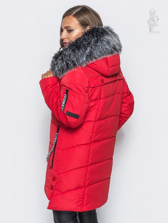Фото-1 Куртки зимней женской теплой Эйпл-1