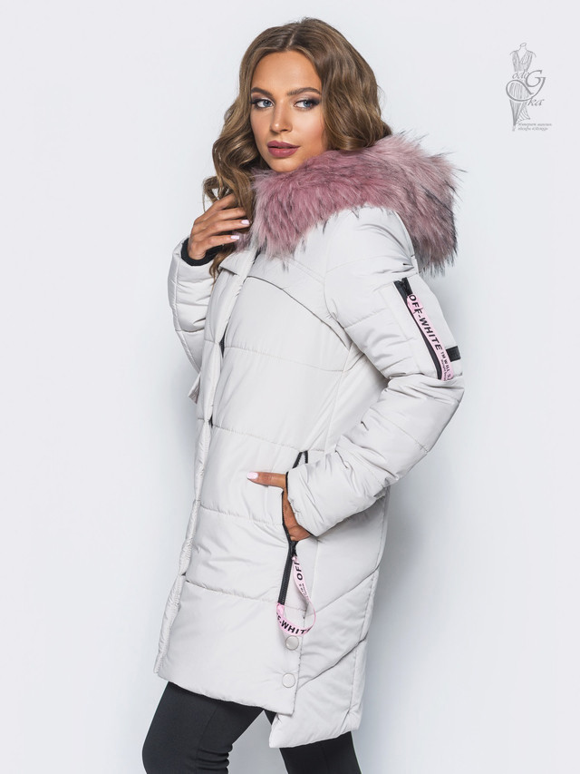 Фото-1 Куртки зимней женской теплой Эйпл-2
