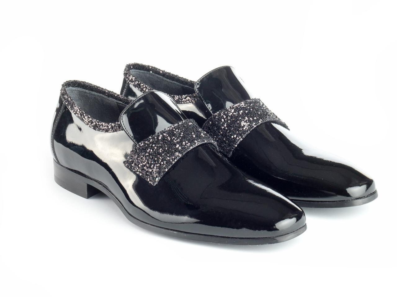 Туфли Etor 14455-11564-12 44 черные