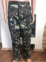 Камуфляжные утеплённые  брюки Дубок(флис)