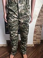 Камуфляжные утеплённые  брюки Пиксель (флис) ВСУ мм-14