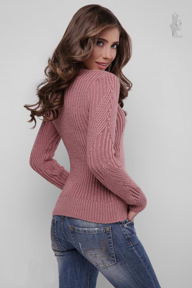 Фото-1 Вязаного женского свитера Велия