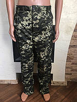 Камуфляжные утеплённые брюки Пиксель пограничный