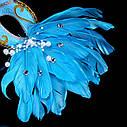 Венецианская маска Жар-птица (голубая), фото 2