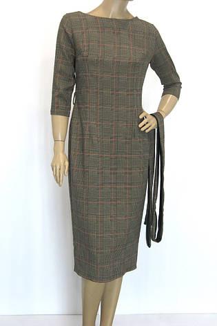 Жіноча сукня в клітинку  Burberry сезон осінь-зима, фото 2