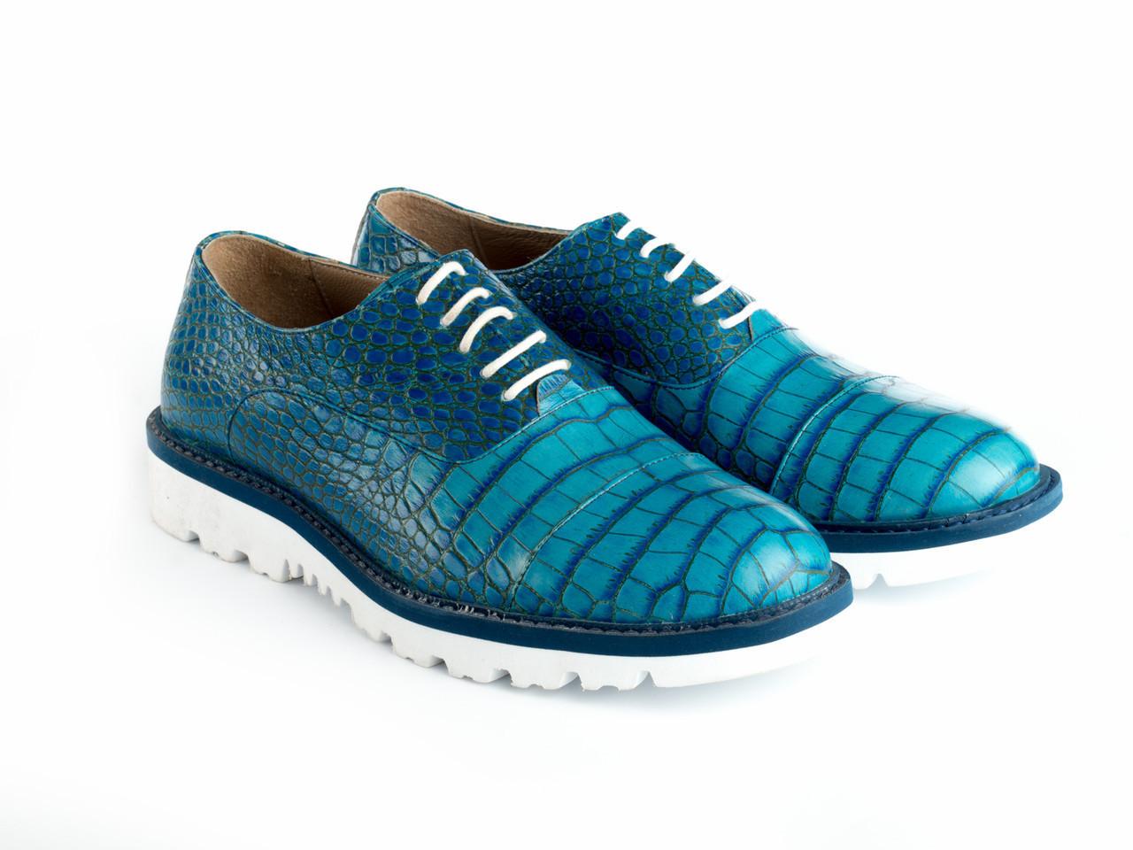 Дерби Etor 13380-181-122 42 голубые