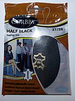 Полустельки  HALF BLACK из высококачественной натуральной кожи 37-38 размер