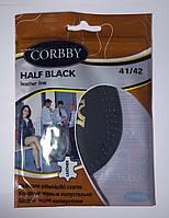 Полустельки  HALF BLACK из высококачественной натуральной кожи 41-42 размер