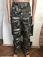 Камуфляжные утеплённые брюки Болото (флис) БТ-12