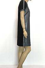 трикотажне сріблясте плаття Сhic сезон осінь-зима, фото 3