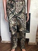 Камуфляжные утеплённые брюки Дерево(светлое)