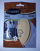 Полустельки  HALF из высококачественной натуральной кожи 35-36 размер