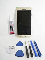 Модуль, тачскрин, сенсор Samsung Galaxy j7, j700, j700h, j700m, j708 Gold, фото 1