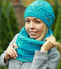 Комплект шапка и шарф , фото 5