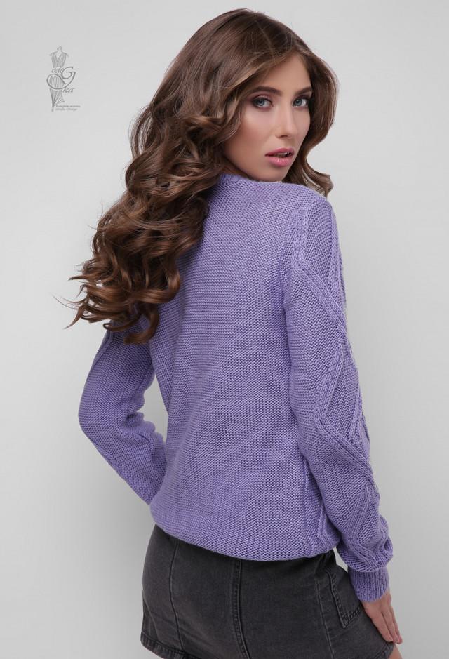 Фото-1 Вязаного женского свитера Маура