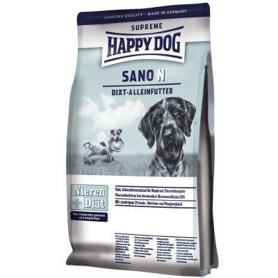 Happy Dog Sano N - полноценный диетический корм для взрослых собак при патологии печени, 7.5 кг