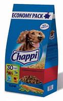 Chappi с тремя видами мяса и овощами  13,5 кг * 2 мешка ( 27кг ) + бесплатная доставка по всей Украине !