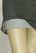 трикотажне плаття з люрексом сезон осінь-зима, фото 3