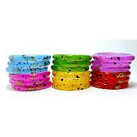 Браслеты пластмассовые детские кольца, фото 1