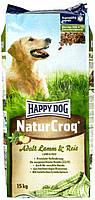 Happy Dog Natur Сroq Lamm Reis - корм с ягненком для взрослых собак с чувствительным пищеварением, 4 кг