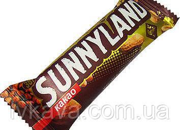 Батончик глазированный Sunnyland какао , 38 гр