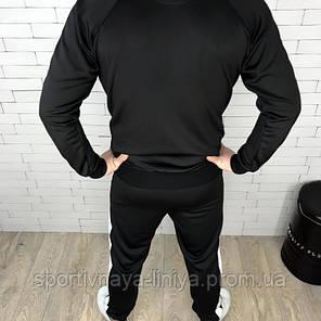 Мужской Спортивный Костюм черный PUMA пума (Реплика), фото 2
