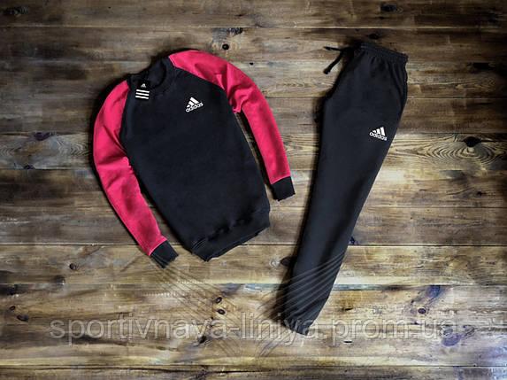Костюм спортивный мужской Adidas реплика, фото 2