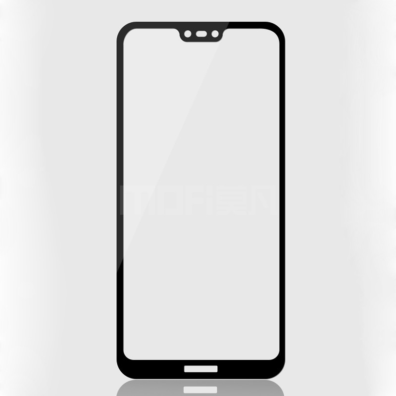 Стекло Full Coverage для Huawei P20 lite цвет Black