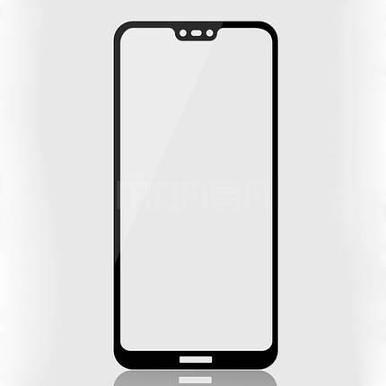 Стекло Full Coverage для Huawei P20 lite цвет Black, фото 2