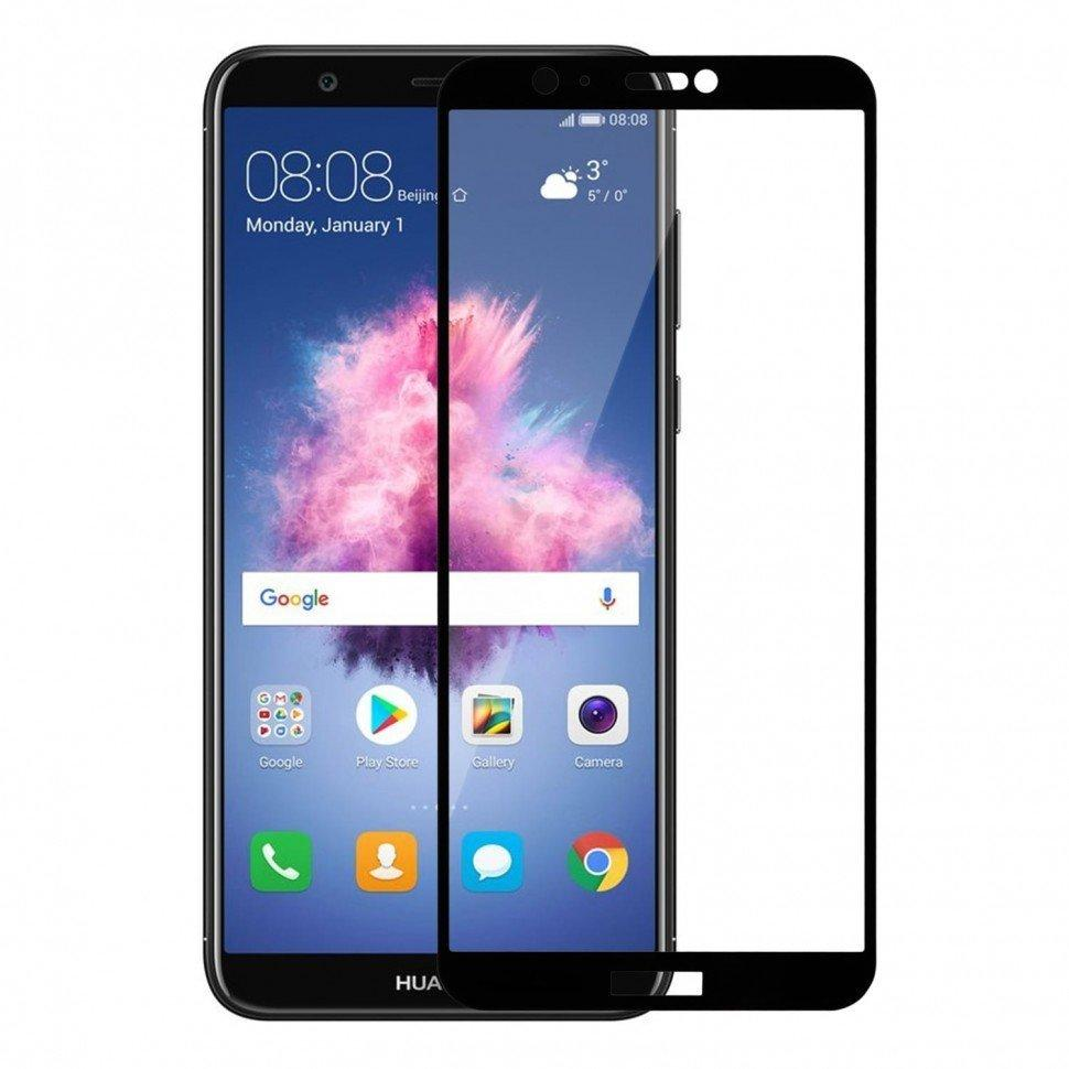 Стекло Full Coverage для Huawei P Smart цвет Black