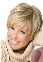 Парик женский короткий блонд для женщин короткая стрижка