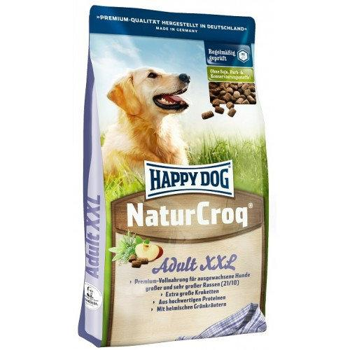 Happy Dog Natur Croq XXL - корм для собак крупных пород, 15 кг