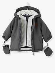Куртка парка 3 в 1 для мальчика с капюшоном Vertbaudet (Франция)