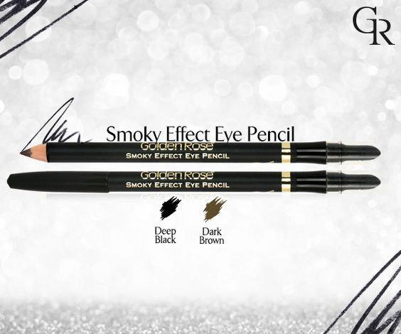 Карандаш для глаз Golden Rose Smoky Effect Eye Pencil (черный)