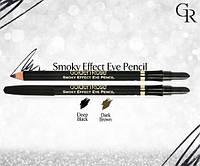 Карандаш для глаз Golden Rose Smoky Effect Eye Pencil (черный)